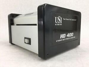 Usi Hd400 Heavy Duty Thermal Pouch Laminator 4 Laminates Up To 15 Mil Thick
