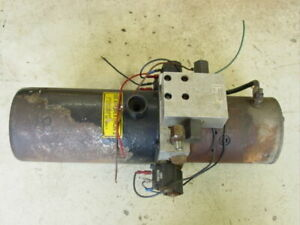 Electric Hydraulic Snow Plow Pump Power Unit Northers Inc