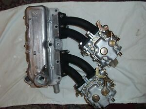 Fiat 850 Cylinder Head 8 Port With Dual Weber Docf S Rebuilt New