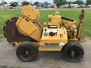 Vermeer Tc4a Walk Behind Trench Compactor Ccr14958