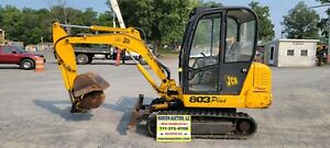2001 Jcb 803 Plus Mini Excavator 2443 Hours Just Serviced Ready For Work