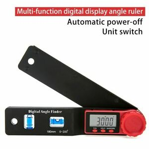 2 In 1 Digital Meter Angle Inclinometer Spirit Level Angle Ruler Electron Gonio