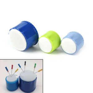 Dental Autoclavable Endo Stand Cleaning Foam Sponges File Holder Clean Stan X m