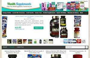 Automated Affiliate Nutrition Store Website Free Installation hosting