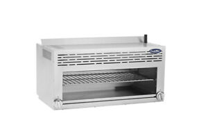 Atosa Atcm 36 Cookrite 36 Gas Cheesemelter W 2 Infrared Burners