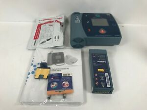 Never Used Philips Heartstart Fr2 Aed M3861a Battery Pads Data Card