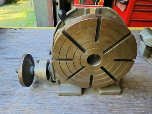 Troyke 12 Inch Horizontal vertical Rotary Table