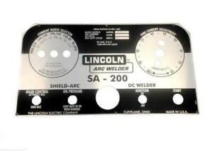 Ezinstall Lincoln Arc Welder Sa 200 L 5171 Black Replacement Decal wrap
