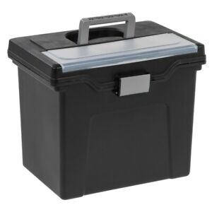 Office Depot Brand Mobile File Box Letter Size 11 5 8 X 13 3 8 X 10