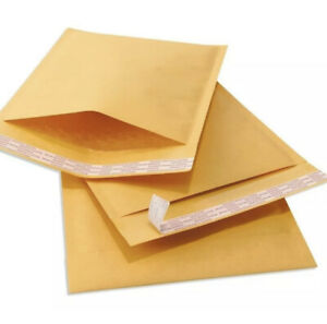 Lot Of 10 8 5x12 Kraft Bubble Padded Envelopes Mailers Shipping Case 8 5 x12