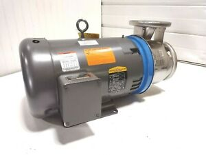New Goulds G l Ssh 5shk6 10hp 2 X 2 1 2 6 Centrifugal Transfer Water Pump