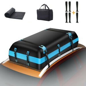 21cubic Foot Car Top Roof Luggage Cargo Bag Carrier Suv Truck Waterproofrooftop