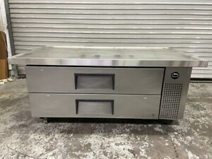60 Refrigerated Chef Base Cooler Equipment Stand Line True Trcb 52 60 6360