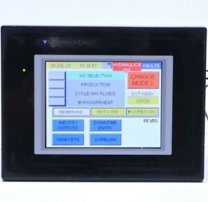 Automation Direct Ea9 t6cl r Touch Screen Hmi Panel
