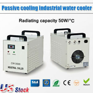 Us S a 110v 60hz Cw 3000dg Industrial Water Chiller For 60w 80w Co2 Laser Tube