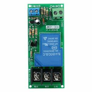 Dc12v 30a Multifunctional Delay Timing On off Optocouple Relay Module 0 60min