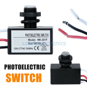 1pc Nk 301f Outdoor Security Photo Electric Resistor Light Sensor Control Switch