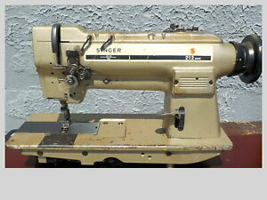 Industrial Sewing Machine 212 U 442 With Reverse Two Needle leather