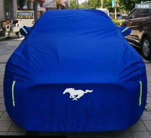 Car Cover Body Dustproof Waterproof Sun Uv Protection Shield For Ford Mustang Fits 2013 Mustang