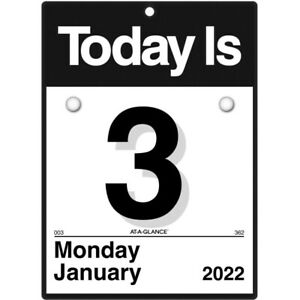 At a glance Today Is Daily Wall Calendar 6 X 6 January To December K10022