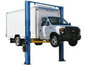 Atlas 2 Post Car Lift 15 000 Lb Weight Limit Gently Used