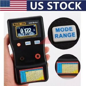 Professional V2 0 001 To 100r Auto Ranging In Circuit Esr Capacitor Tester Meter