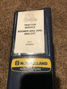New Holland Boomer 3040 3045 3050 Cvt Tractor Service And Operators Manual
