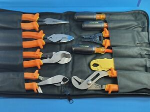 New Ideal 9pc 10pc Insulated Electrician Tool Kit Set 1000v