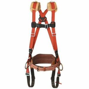Klein Tools Lh5268 25 l Large Harness With Fixed Body Belt D to d Size 25 New