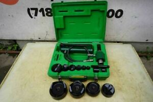 Greenlee Knock Out Hydraulic Punch And Die Set 7310 1 2 To 4 Nice Set 8 17 2