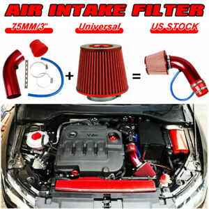 Car Accessories Cold Air Intake Filter Induction Kit Pipe Power Flow Hose System Fits 2006 Mazda 3
