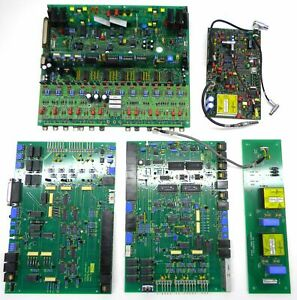 Lot Of Electronics For Thermo Vg Pq Excell Icp Spectrometer Circuit Boards