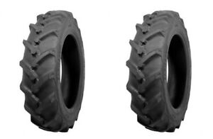 two 5 12 Atf Brand R 1 Lug Compact Tractor Tires 6ply Rated Heavy Duty Tubeles