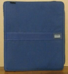 Vintage Mead Five Star First Gear 3 Ring Binder Zipper With Pencil Case