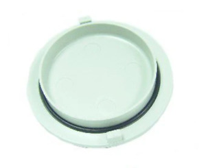 Vacuum Canister Cap W o ring Bracket Mounted Gray Pn 5866