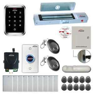 Visionis One Door Access Control With Maglock Keypad Exit Button Pir