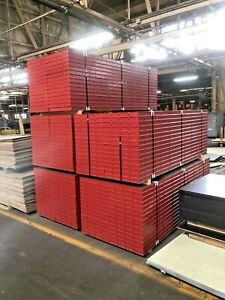 new Sureply Symons Concrete Wall Forms Steel ply 24 X 8 Panels 30 Pcs