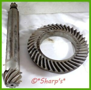 At16611t john Deere M Mt 320 40 Transmission Differential Ring Pinion Genuine