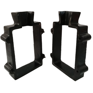 Cast Iron 2 Part Flask Mold for Delft Sand Casting Jewelry Making Tool $25.75