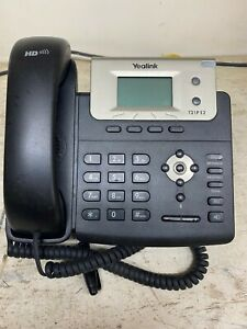 Yealink T21pe2 Sip Business Phone Lot Of 6 Used