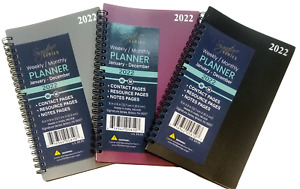 Signature 2022 Weekly monthly Planner Organizer 5 X 8 Select Color
