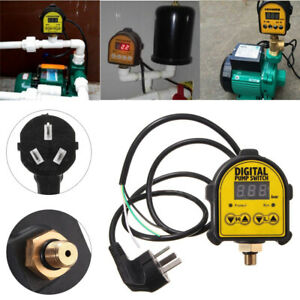 Water Pump Digital Electronic Pressure Control Switch Automatic Controller Tool