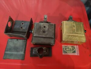 2 Wico Ek Magnetos And Dust Cover