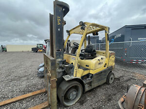 2012 Hyster S155ft Solid Tire Forklift Diesel Engine 15 000lbs Toyota Hyster