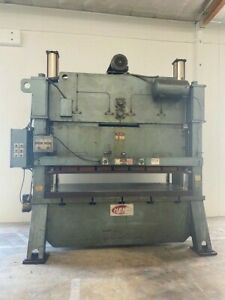 Heim 200 Ton Straight Side Punch Press 42 X 102 Bed 5956