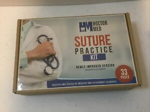 33 Piece Practice Suture Kit For Medical And Veterinary Student Training