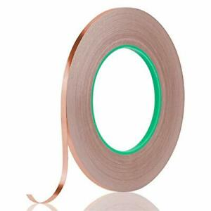 Tifanso Copper Tape Copper Foil Tape Conductive Adhesive Tape With Double Sid