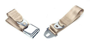 Eckler S Chevelle Seat Belt Front Fawn 1964 1966 Early 50 205119 1