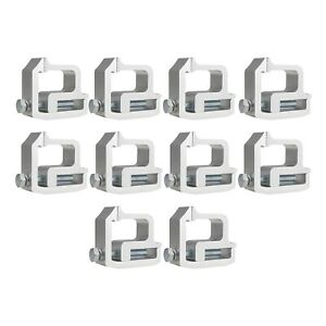 Mounting Clamps Truck Caps Camper Shell Fit For Chevy 1500 2500 3500 Silver