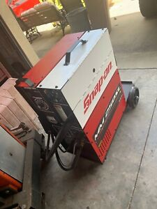 Snap On Welder Mm250sl Muscle Mig Welding System With Aluminum Spool And Tanks